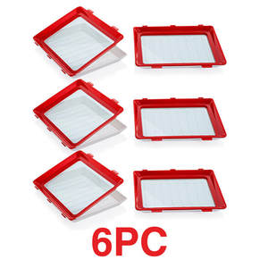 Container-Set Plates Preservation-Tray Food-Organizer Kitchen-Cover Fresh Plastic Refrigerator