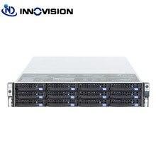 Оптимизированный 2u 12 отсеков чехол для сервера горячей замены L = 650 мм огромный корпус для хранения hotplug с 6 Гб mini sas backplane для облачных/NVR/NAS/IPFS