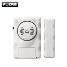 Fuers Wireless Home Security Tür Fenster Alarm Warnung System Magnetische Tür Sensor Unabhängige Alarm Drahtlose Offene Tür Detektor