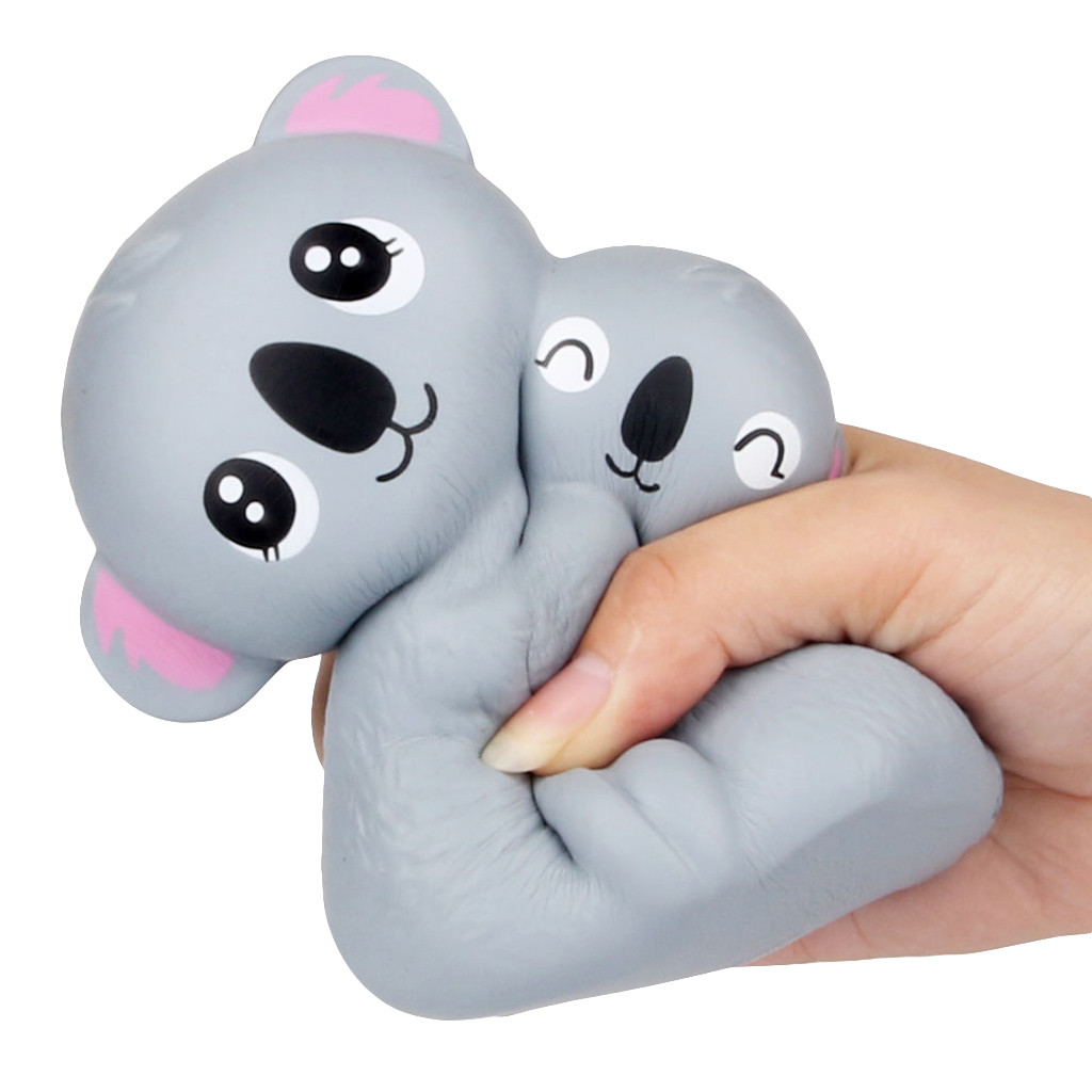 Exquisite Parent Son Koala Soft Squishies Doll Toy Kid Gift Scented Slow Rising Cream Baby Stress Relief Squeeze Palm Toys