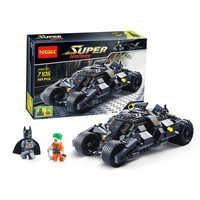7105 Legoinglys Batman Il Bicchiere Batmobile Del Batwing Burlone Super Heroes Auto Building Blocks Mattoni Bambini Giocattoli Regali Di Natale