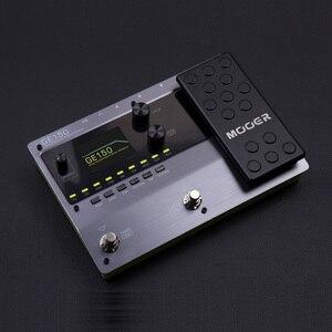 Image 2 - MOOER GE150 najnowszy wpis w linii GE pedał efektów 55 wysokiej jakości modeli amp i 151 różnych efektów