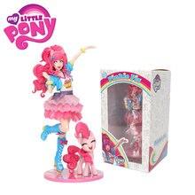 Bonecos colecionáveis exclusivos de 8-20cm, modelos de brinquedos em pvc, pinkie pie, bishoujo