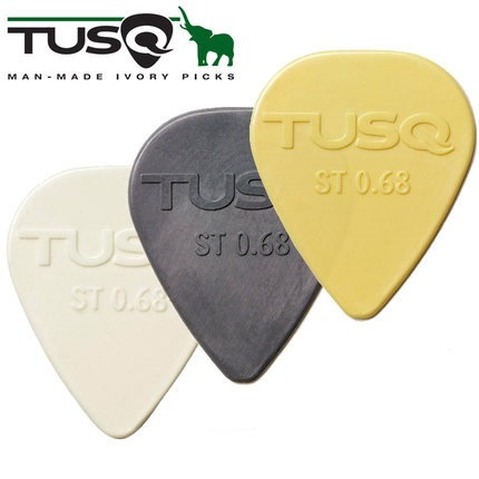 Tusq The Canada Original Guitar Pick Plectrum  Made With Artificial Ivory Material Bass Pick, Sell By 1 Piece