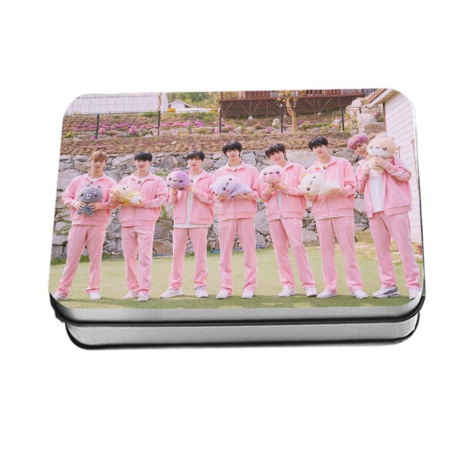 Kpop Monsta X Twotuckgom HD Collective Photocard Shownu I M Polaroid Lomo Photo Card Kihyun 40pcs