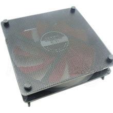 5PCS/lot 120mm Cuttable Black PVC PC Fan Dust Filter Dustproof Case Computer Mesh