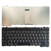 Nuevo teclado ruso para ordenador portátil Toshiba Satellite L455 L450 L455D L450D Qosmio F40 F45 G40 G45 F50 F55 RU teclado negro