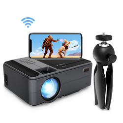 CAIWEI C180AB 1280x720P Android WIFI Proyector Portable LED Beamer Wireless Mini Projector for Smartphone Home Cinema