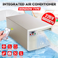 1400W Portable Air Conditioner Cold Cool 220V/AC 24hour Timer With Remote Control Digital Display Control Panel Air Conditioner