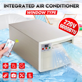 Portable Air Conditioner Cold Cool 220V/AC 24hour Timer With Remote Control Digital Display Control Panel Air Conditioner