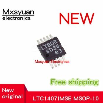 10pcs LTC1407CMSE LTC1407IMSE LTC1407HMSE LTC1407ACMSE LTC1407AiMSE MSOP10 New stock on hand chip