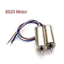 1 çift 8520 çekirdeksiz Motor 4.2V 58000RPM yüksek hızlı motorlar RC Model uçak için büyük güç içi boş fincan motor mili Dia 1.1mm