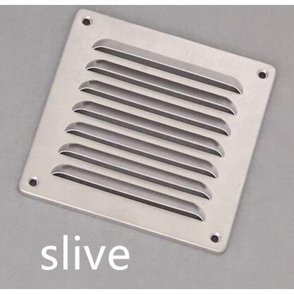 Aluminum Air Vent Ventilator Grille Undereave Under Eave Louvers Stainless Steel Copper Rain