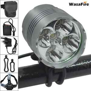 Wasafire Headlamp Bicycle-Headlight Bike-Accessories Front-Lamp T6 Led Waterproof 7000LM