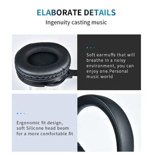 Image 4 - Cuffie da gioco Wireless Bluetooth V4.2 cuffie Stereo HD pieghevoli cuffie intelligenti con cancellazione del rumore supporto TF Card