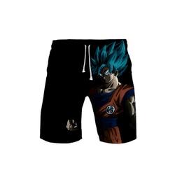 Мужские шорты с 3D изображением драконьего мяча, Гоку, 3D, летние шорты, новые быстросохнущие пляжные шорты, детские шорты в стиле хип-хоп, пляж...