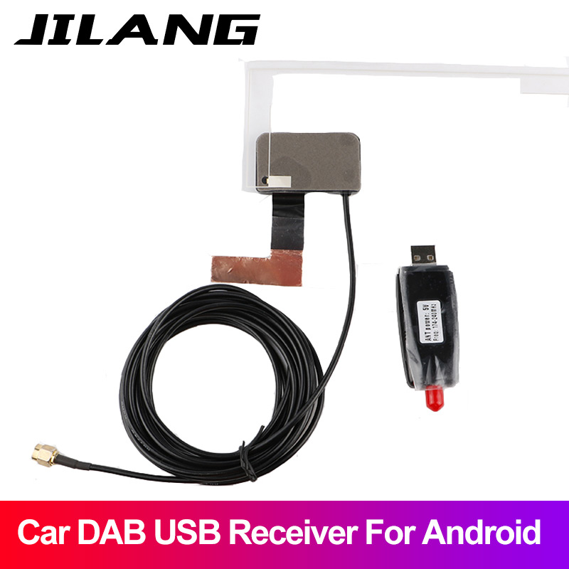 DAB Windscreen Mount SMA Aerial Antenna for Car Radio Receiver Tuner Dongle