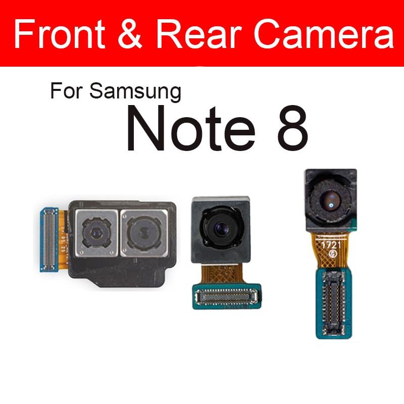 Front & Rear Back Camera For Samsung Galaxy Note 8 Note8 N950F N950U Small Facing Main Back Big Camera Replacement Repair Parts