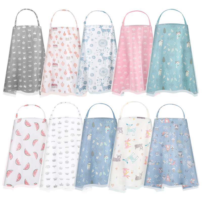 Cute Nursing Cover For Breastfeeding Soft Multi Use For Baby Car Seat Canopy Scarf Blanket Stroller Cover H Hot