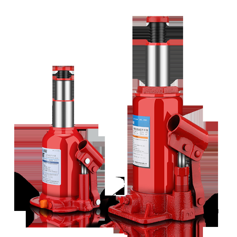 Vertical Hydraulic Jack 2 Tons Jack Car With 3 Tons Truck Oil Pressure Car Mounted Hand-cranking Qian Jin Ding
