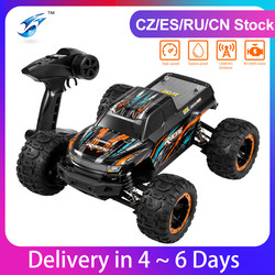 Linxtech 16889 1/16 30/45km/h Racing RC Car Brushless Motor 4WD Big Foot Off-Road RC Buggy Car Toy All Terrain for Kids VS 12428