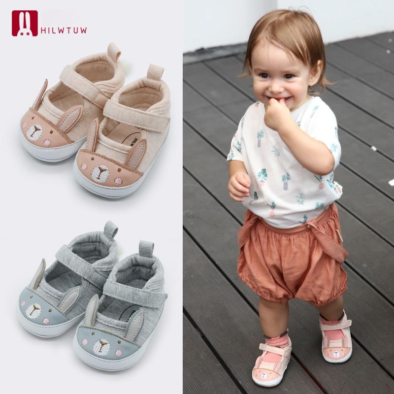 Toddler Baby Girl Boys Crib Shoes Anti-slip Sneaker Soft Sole Pram Prewalker YW