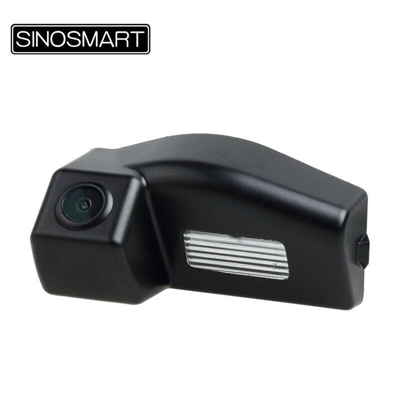 SINOSMART камера заднего вида для Mazda 3 хэтчбек седан 3 хэтчбек 2011 установка в отверстие лампы номерного знака