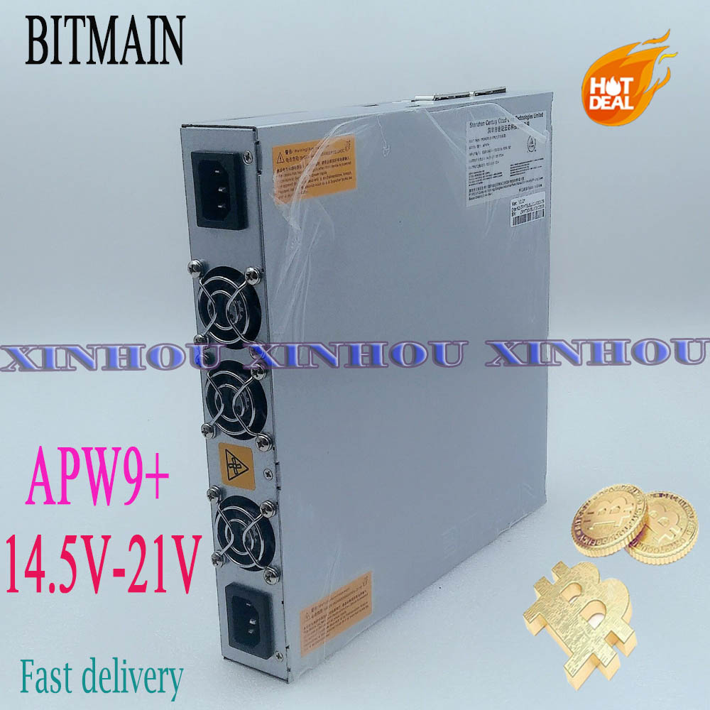 Oryginalny zasilacz BITMAIN APW9 + 14.5V-21V PSU dla górnika Antminer S17e,T17e,S17 +,T17 +