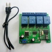 Ce023 dc 12 v dtmf mt8870 전화 음성 디코더 제어 순간 토글 래치 지연 타이머 다기능 릴레이 원격 모듈