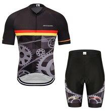 цена на Cycling Jersey 2019 Pro Team 3D printing Cycling Clothing MTB Cycling Bib Shorts Men Bike Jersey Set Ropa Ciclismo Triathlon
