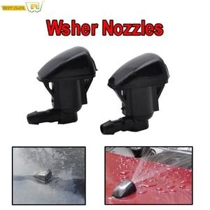 Misima x2 Front Windscreen Wiper Washer Jet Nozzle For Toyota Land Cruiser Prado J120 120 Corolla Verso E121 Spacio 2003(China)