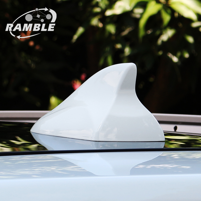 Advanced Style, Silver Renegade and Cherokee Car Exterior Accessories Car Radio Aerials Compass Ramble- Advanced Shark Fin Antenna Automotive Signal Antena Works with Jeep Patriot