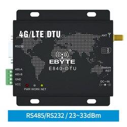 4G LTE RS232 RS485 Módulo Modbus RTU TCP LTE-FDD WCDMA GSM ebyte E840-DTU (4G-02E) modem Transceptor sem fio Transparente