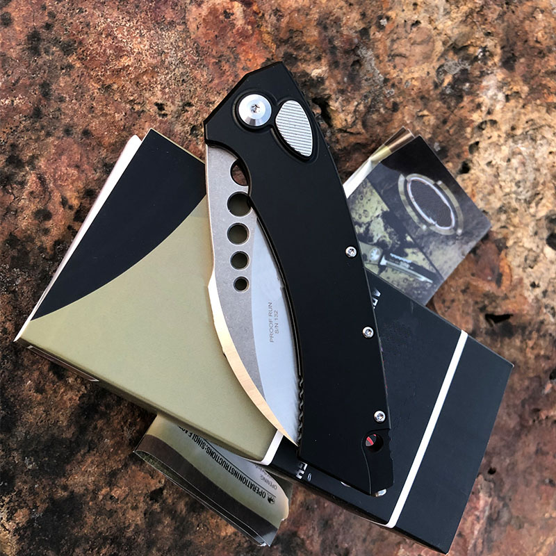 Outdoor   Others Listing 2020 Folding Hardness EDC New Handle High Survival Tools Tech Micro Knives Aluminum  Camping