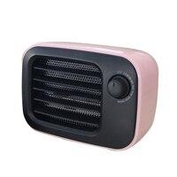 Ceramics Heating Heater Electric Warmer Retro Adjustable Portable for Home Desktop FP8