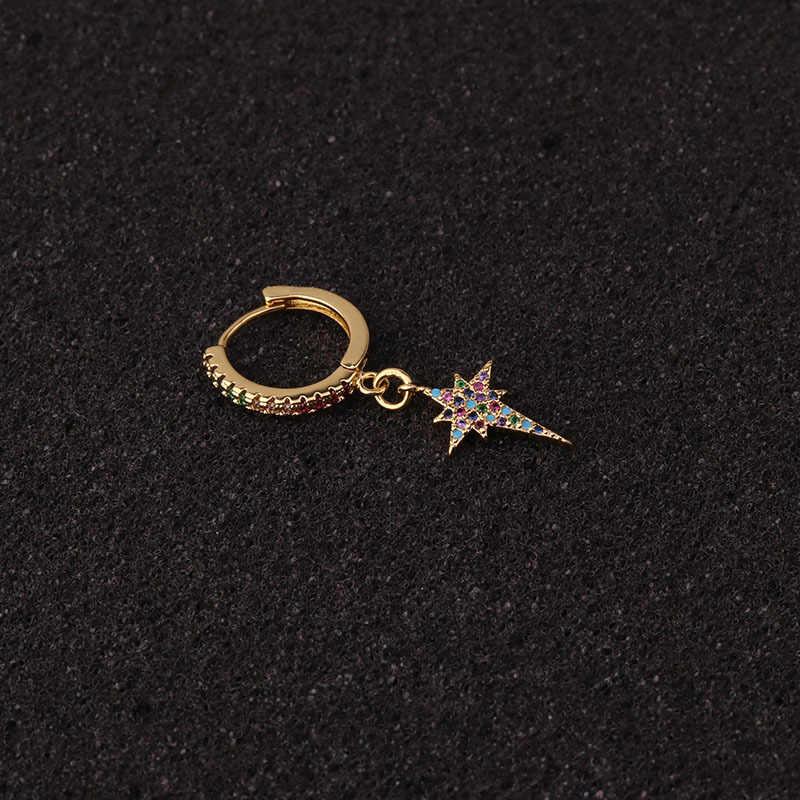 1 قطعة الأفعى الشفاه سدادة الذهب اللون القبلية الهندي الأنف ثقب الحاجز الدائري متعدد الألوان تشيكوسلوفاكيا Daith ثقب القرط مجوهرات للجسم
