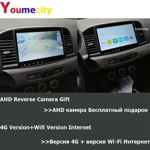 Image 4 - 6G RAM/שמונה Core/אנדרואיד 10.0 מולטימדיה לרכב נגן DVD Gps עבור מיצובישי לנסר 2007 2018 9 x עם DSP Carplay IPS רדיו BT
