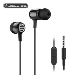 Jellico Earphones In-Ear Wired 3.5mm Headset Mic Volume Control Headset for Samsung Galaxy S10 S9 S8 S7 Xiaomi Huawei Smartphone(China)