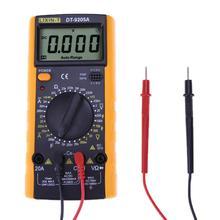 NEW DT9205 LCD Digital Multimeter Voltmeter 1999 Backlight AC/DC Ammeter Voltmeter Ohm Tester Meter Current Capacitance Tester