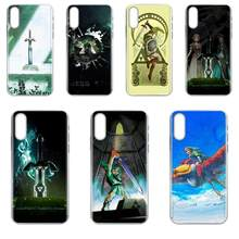 Mobile Phone Case Cover untuk Galaxy Grand A3 A5 A7 A8 A9 A9S On5 On7 Plus Pro Star 2015 2016 2017 2018 Legenda Zeldas(China)