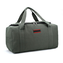 Large Capacity Canvas Travel Bag Hand Luggage Men Weekend Bag Over Suitcase Carry Travel Duffle Suitcases and Travel bags