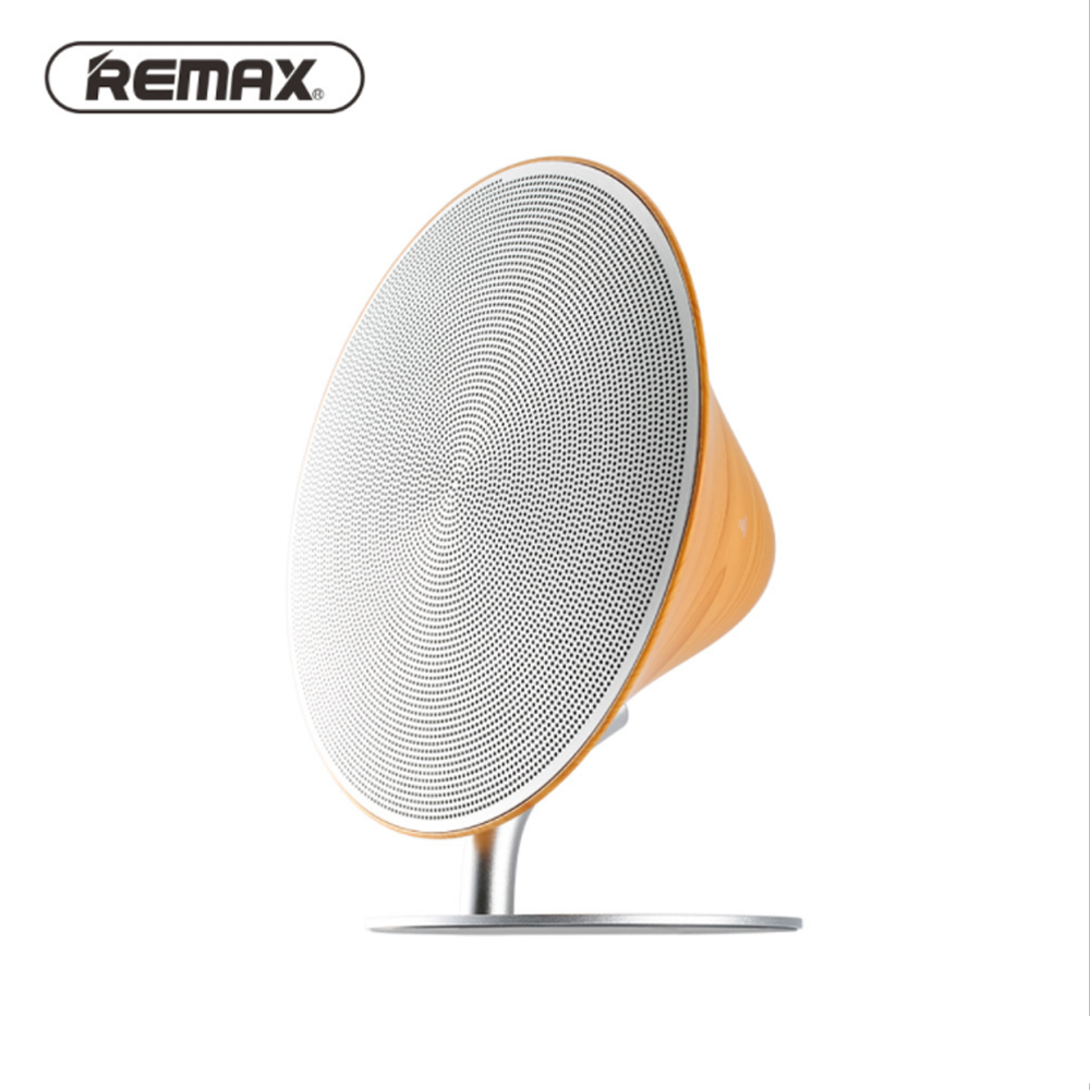 Remax <font><b>Bluetooth</b></font> 4.2 Hifi Audio Desktop Stereo Wireless <font><b>Bluetooth</b></font> <font><b>Speaker</b></font> NFC <font><b>Bluetooth</b></font> <font><b>Speaker</b></font> Contact Button Design Built-In Au image
