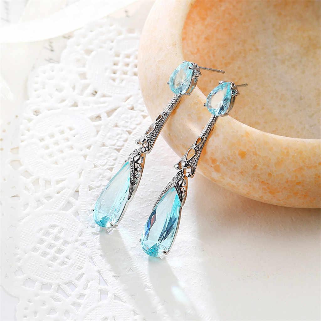Mode Simple européen et américain boucles d'oreilles coréen Vintage géométrique balancent boucle d'oreille pour les femmes sauvage dames mode bijoux # ZD