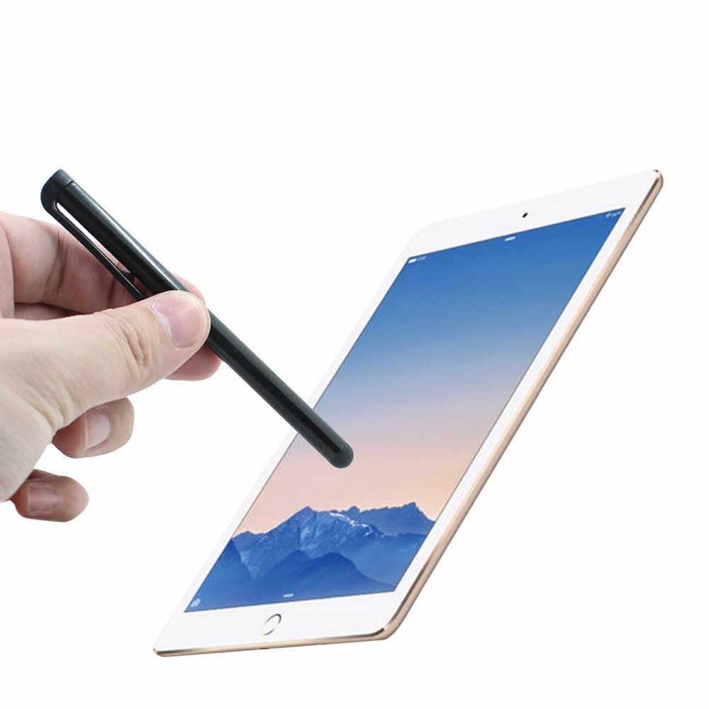 Pena Layar Sentuh Layar Logam Pena Stylus untuk Iphone Ipad Ponsel Tablet Layar Sentuh Kapasitif Pena