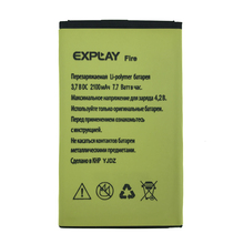 2pcs NEW Original 2100mAh Fire battery for EXPLAY High Quality Battery+Tracking Number