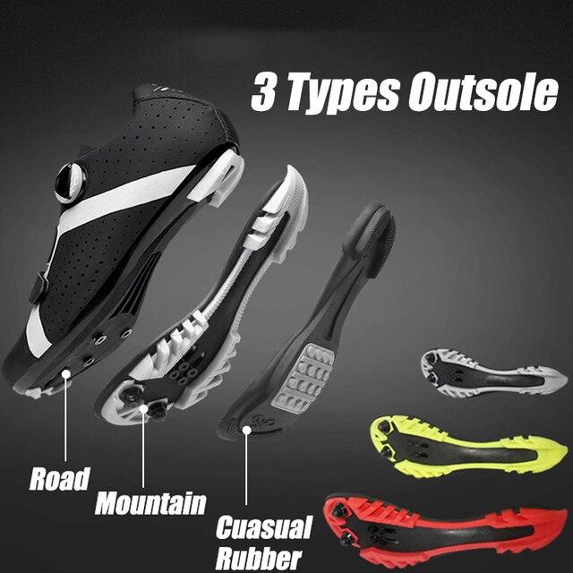 Homens ciclismo sapatos de velocidade auto-bloqueio sapatos mtb homem de bicicleta de estrada sapatos de corrida de tênis triathlon ciclismo mtb 2020 3