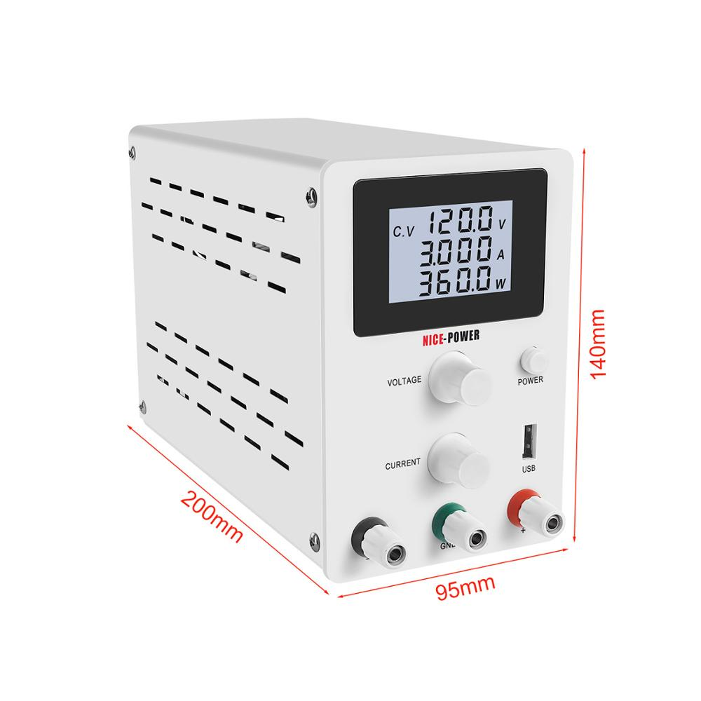 120V 3A High-präzision Schalt Spannung Geregelte DC Labor Netzteil 30V 10A 60V 5A Power lieferungen Einstellbar Bank Quelle