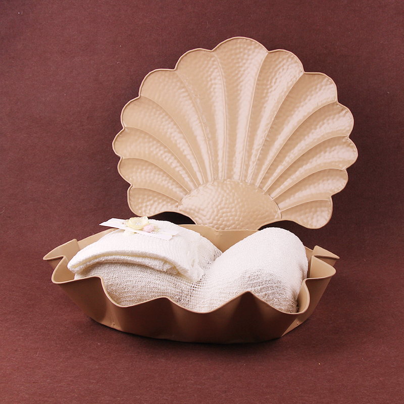 Newborn Baby Containers Photography Studio Shooting Props Shell Shape Shooting Ornaments Photography Props