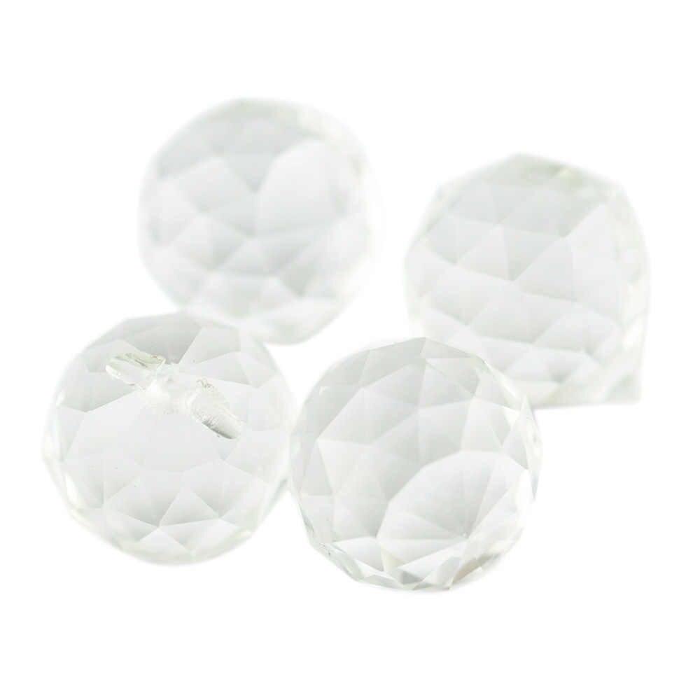 15 мм-100 мм занавески-перегородки вход люстра с шарами прозрачное стекло, хрусталь лампы подвисная Призма падение подвесные шары