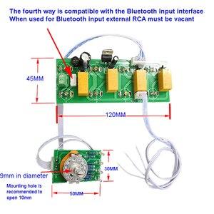Image 5 - Lusya Bluetooth entrée 4 entrées 1 sortie sélecteur de Signal commutation RCA Audio commutateur entrée tableau de sélection T0808